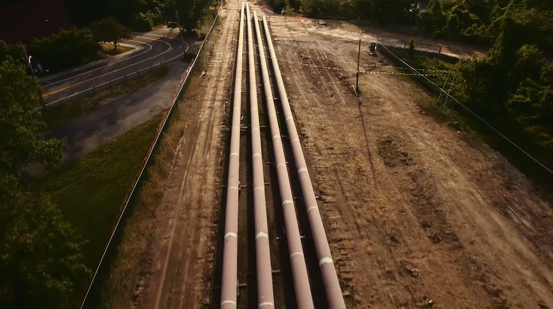 A Pipeline Runs Through It